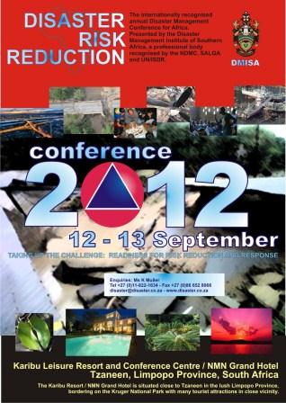 27th DMISA Conference 2012