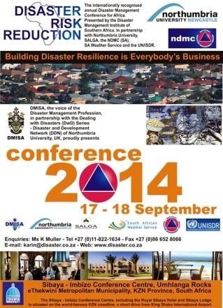 Disaster Risk Reduction 2014